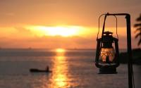 ???? ?? ?????? ?? ?? ????????? (Sunset on Panaji Beach)
