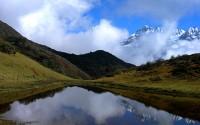 ????????????? (Reflections), Kanchenjunga National Park, North Sikkim, India