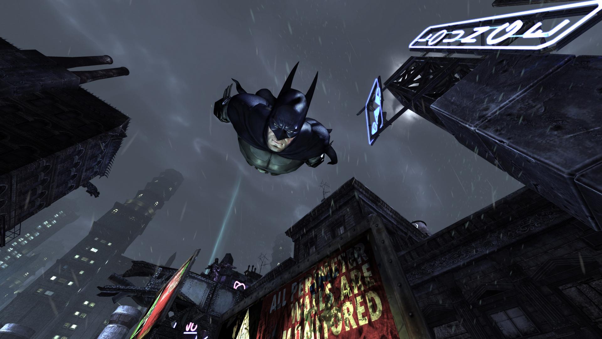 batman arkham asylum desktop wallpaper