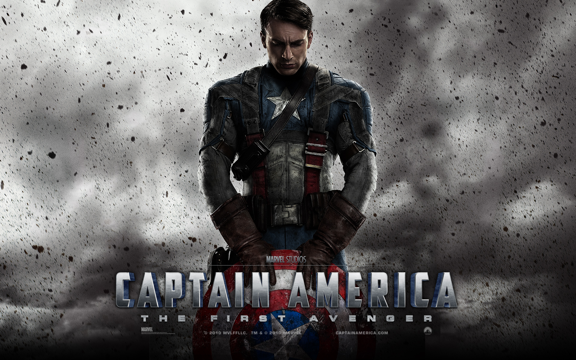 Captain America with Chris Evans Wallpapers 1920x1200 | HD
