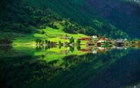 Village in Vestfold County, Norway