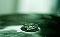 water drops macro