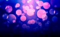 violet bokeh