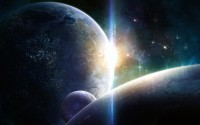 planets colide