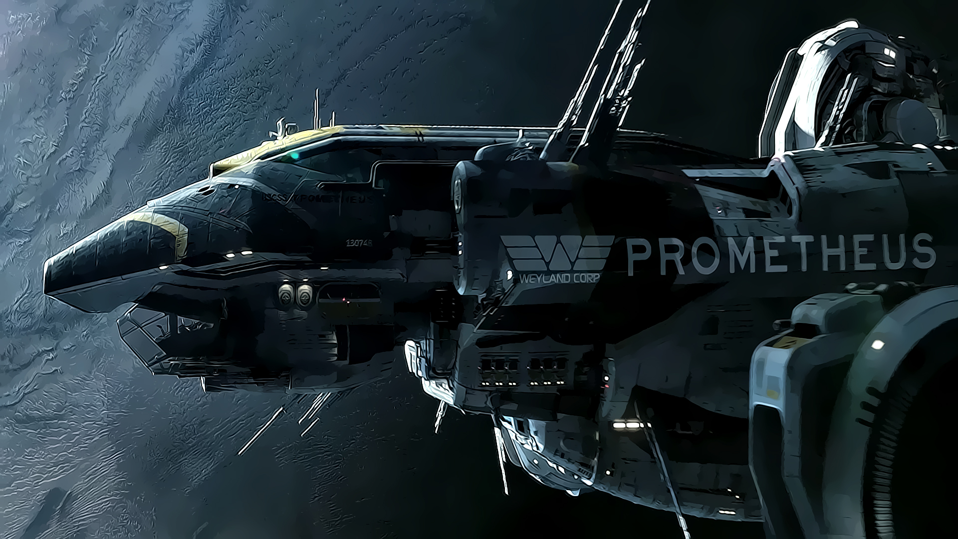 daily featured wallpaper - Prometheus | HD Wallpapers
