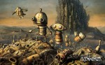 "5 steampunk wallpapers from the game ""Machinarium"""