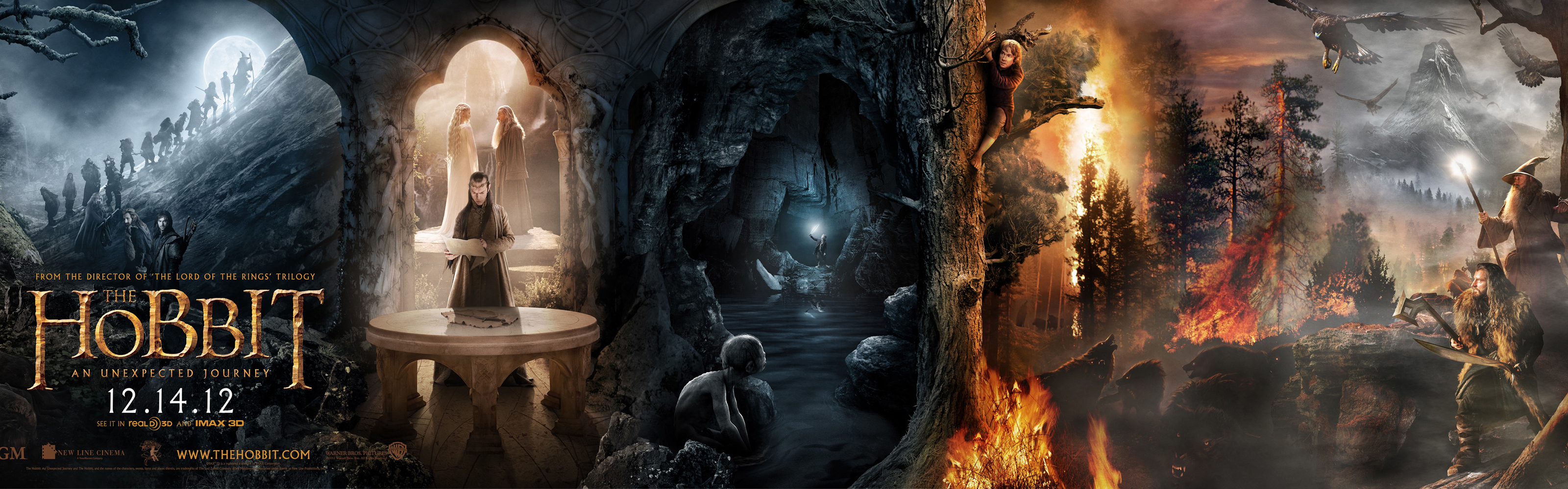 themes of the hobbit It's alluded to in the smoke rings theme as it appears in the hobbit in fact, the  ring theme is a component in the very theme that opens the first hobbit film,.