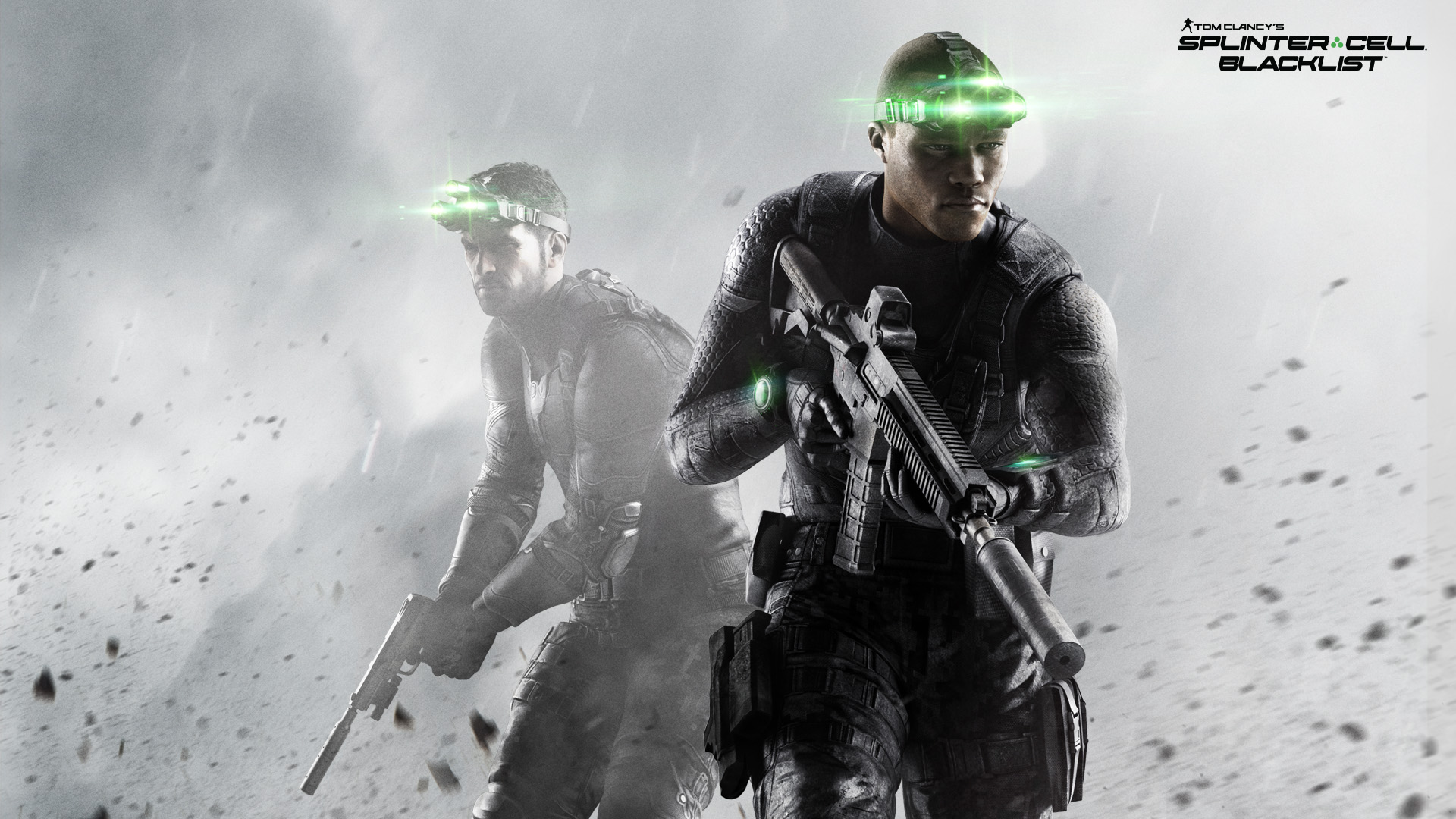 Two wallpapers from video game Splinter Cell:Blacklist ...