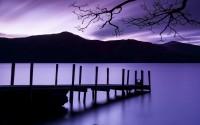 Ashness Landing, Derwentwater, Lake District National Park, Cumbria, England, U.K.