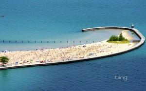sandy beach island