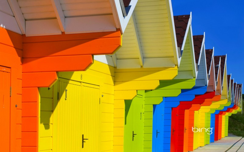 colorful houses wallpaper