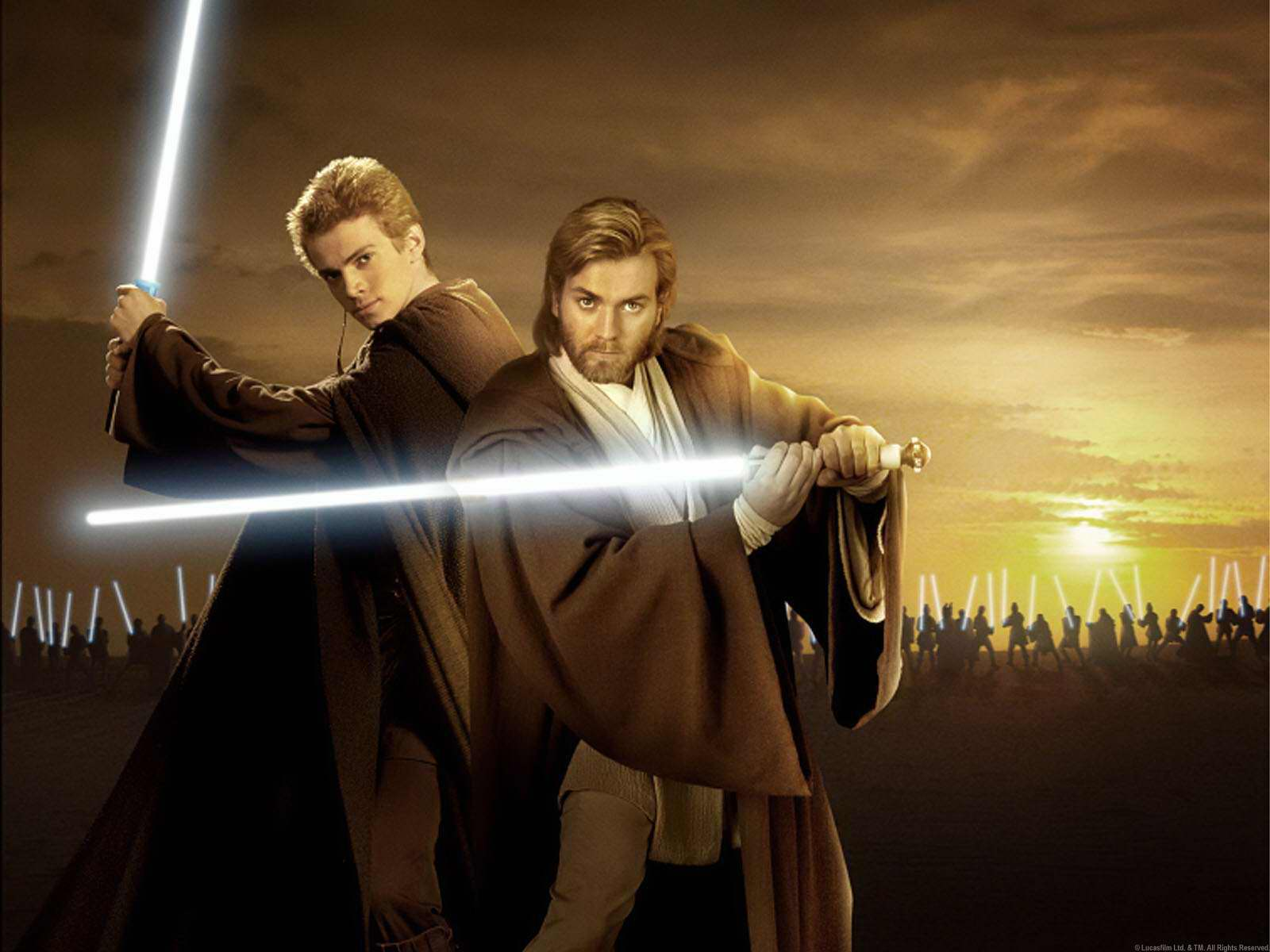 Star Wars Wallpaper Mace Windu Anakin And Obi Wan