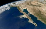 Two aerial view wallpapers of the Earth