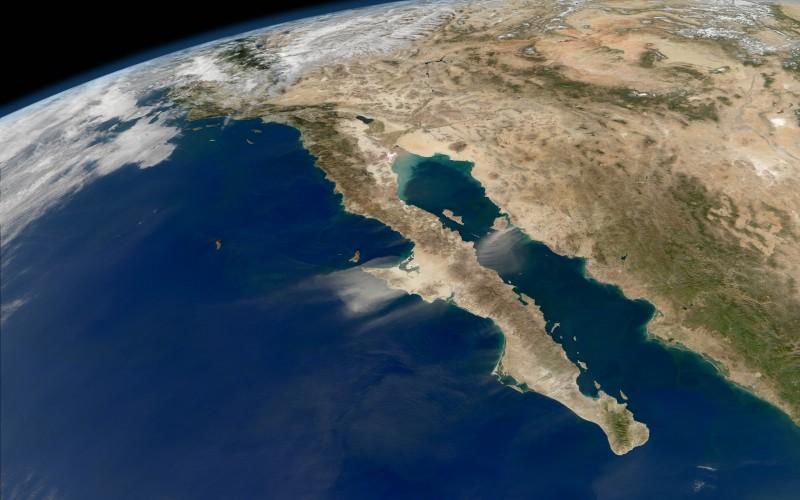 california peninsula aerial view wallpapers