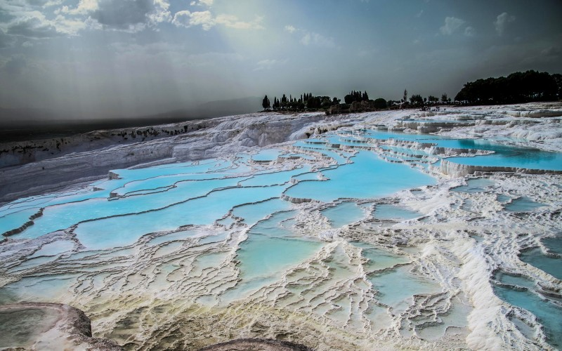 Pamukkale natural pools, Turkey