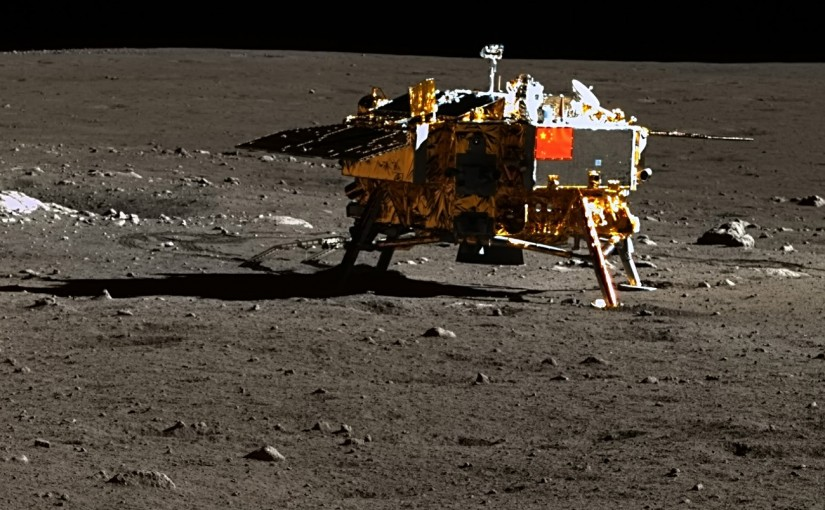 Spectacular new hi-res images from the Moon shot by Chinese lander Chang'e 3