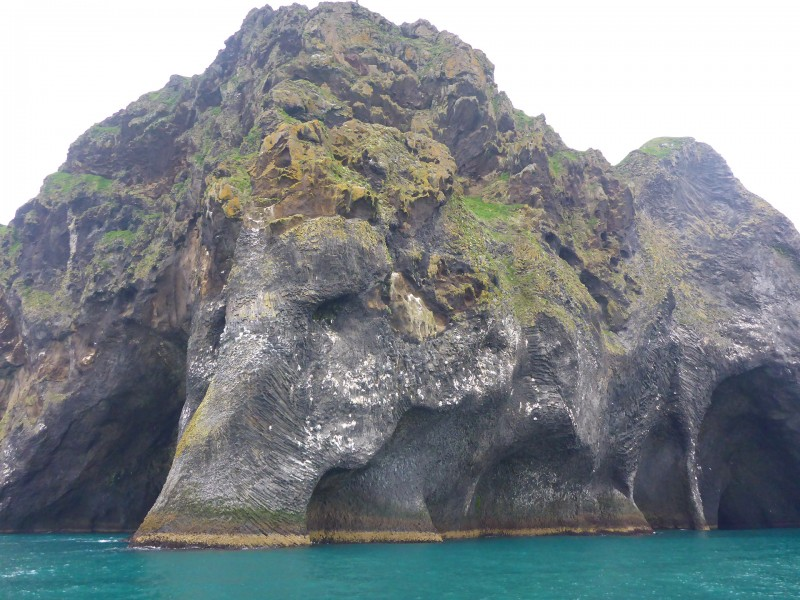The Elephant Rock on Heimaey, Iceland