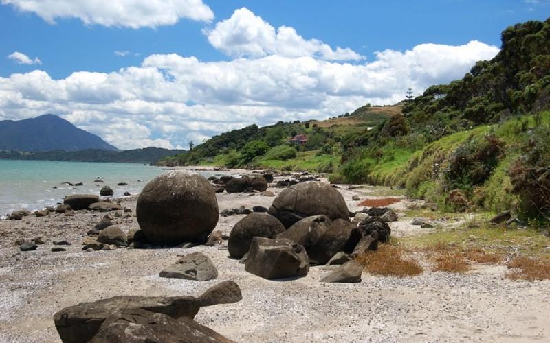Koutu Boulders, New Zealand