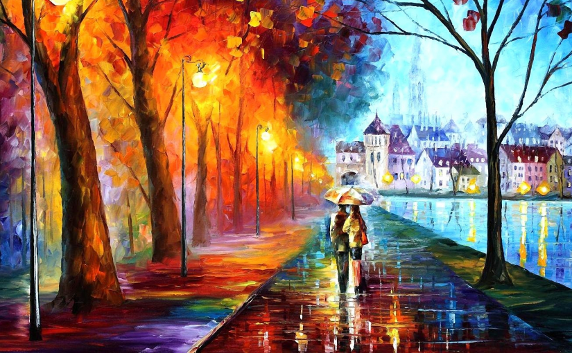 Leonid Afremov's modern impressionistic paintings