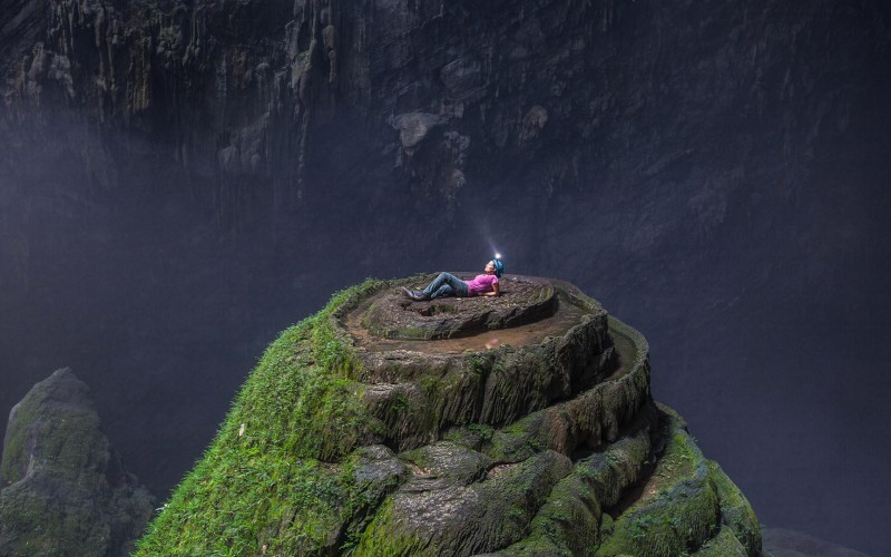 Hang Son Doong the world's largest cave in Vietnam