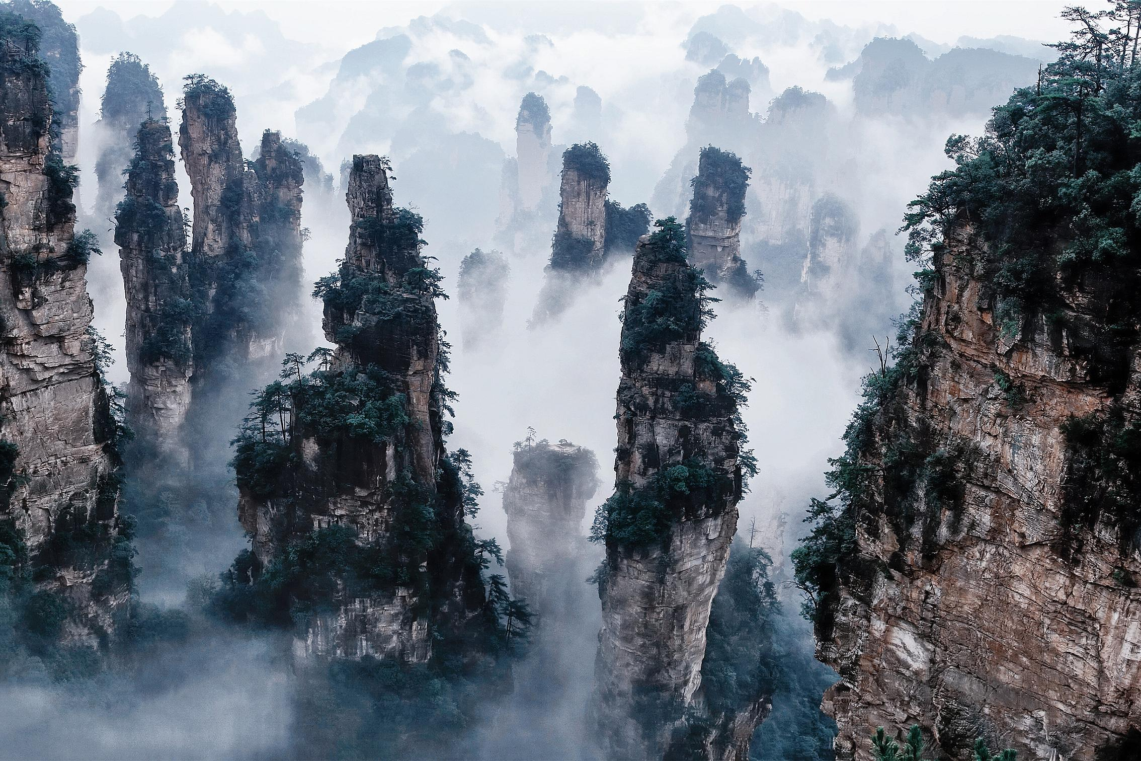 Zhangjiajie National Park - Hallelujah Mountains
