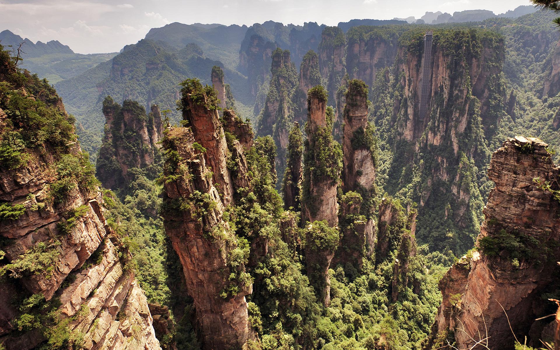 Zhangjiajie National Park - Hallelujah Mountains