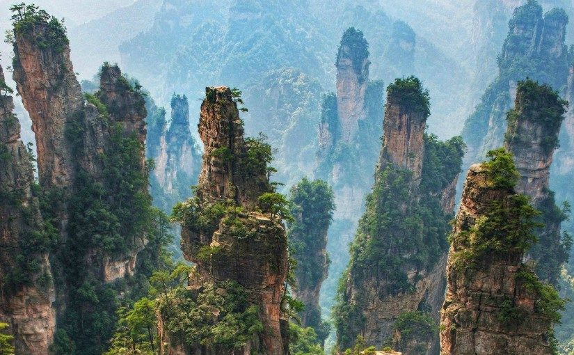 Zhangjiajie National Park – Avatar's Hallelujah Mountains on Earth