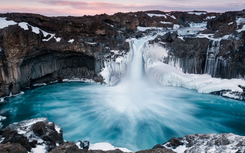 Iceland Waterfalls Aldeyarfoss