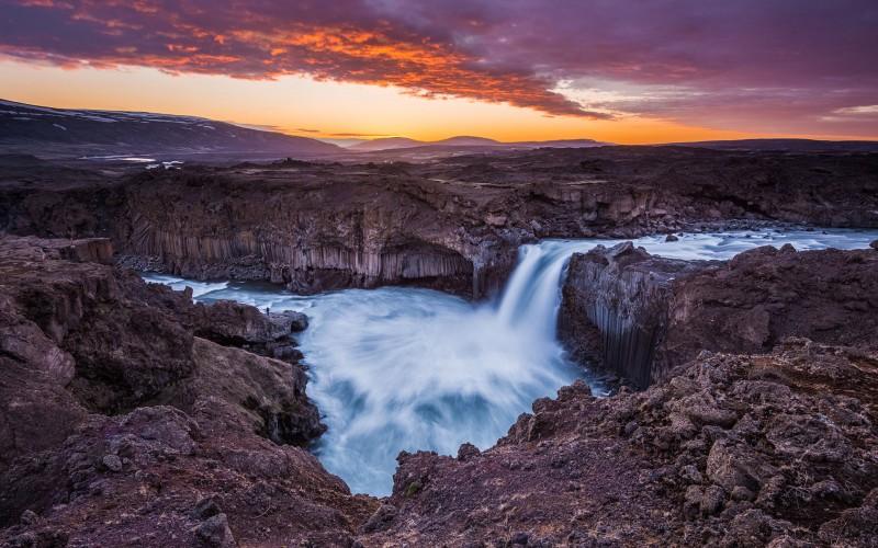 Iceland Waterfalls aldeyarfoss