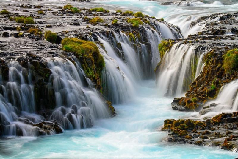 Iceland Waterfalls Bruarfoss