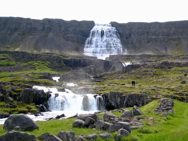 Iceland Waterfalls Dynjandi (Fjallfoss)