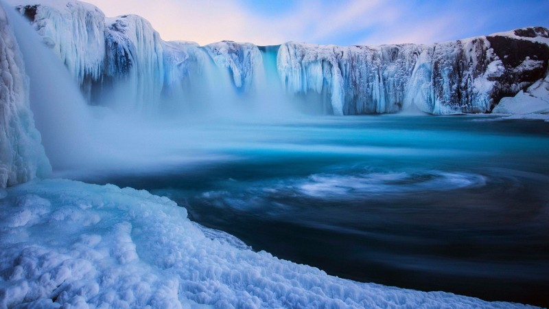Iceland Waterfalls Godafoss