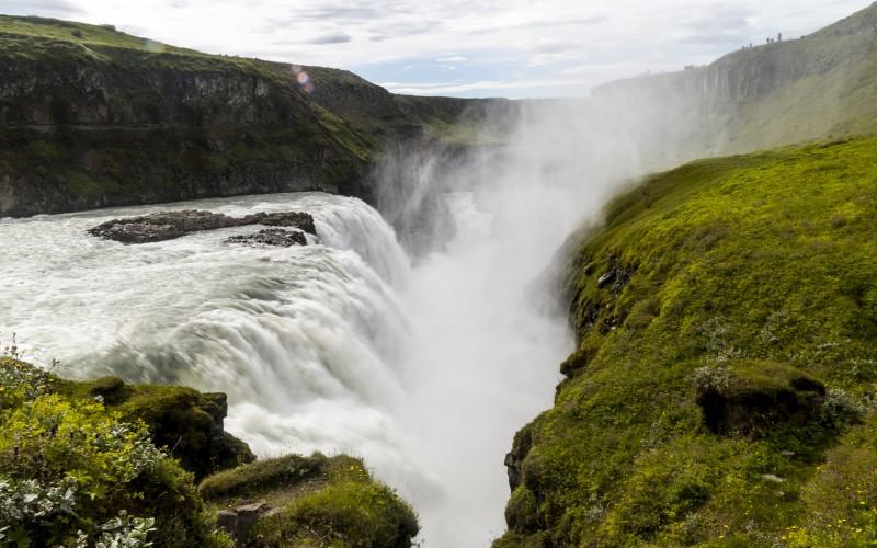 Iceland Waterfalls Gullifoss