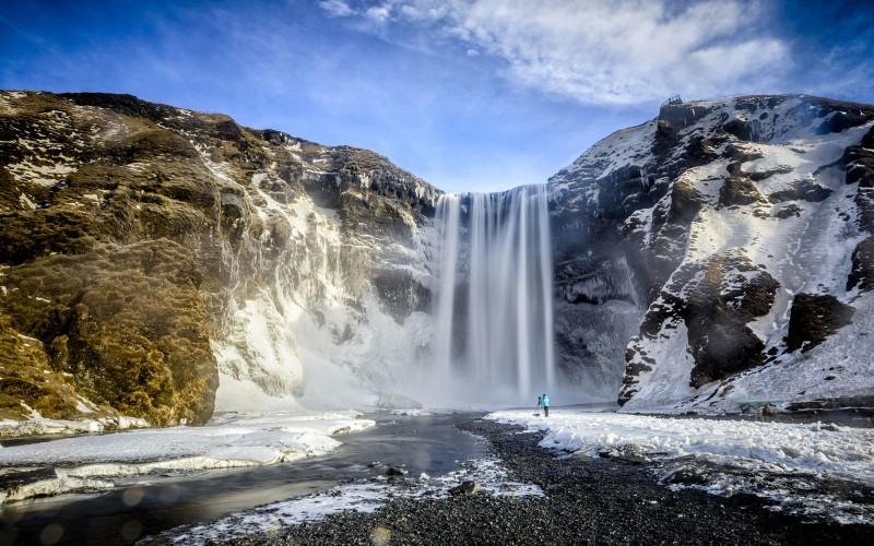 Iceland Waterfalls Skogafoss
